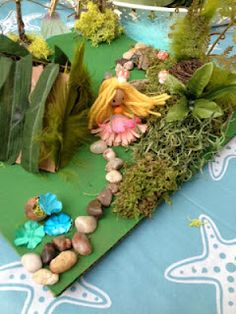 Love the fairy.  Wish the base were something that could be left outside & that cardboard was not needed for the house