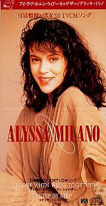 """For Sale - Alyssa Milano I Love When We're Together Japan  3"""" CD single (CD3) - See this and 250,000 other rare & vintage vinyl records, singles, LPs & CDs at http://991.com"""