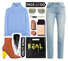 """""""Pack and Go: Winter Getaway"""" by katerin4e-d ❤ liked on Polyvore featuring Urban Decay, Tory Burch, Yves Saint Laurent, Balenciaga, Gucci, Christian Dior and Bobbi Brown Cosmetics"""