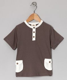 Take a look at this Pebble Organic Pocket Tee - Infant, Toddler & Boys by Kate Quinn Organics on #zulily today!