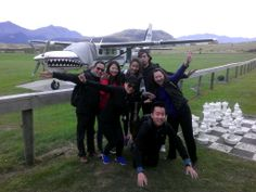 Let's skydive with this awesome plane! Drop Zone, Skydiving, Tandem, New Zealand, Plane, Let It Be, Awesome, Aircraft, Airplanes