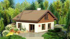 DOM.PL™ - Projekt domu Dom przy Imbirowej 3 CE - DOM EB3-29 - gotowy koszt budowy Gazebo, Shed, Outdoor Structures, House Design, Cabin, House Styles, Outdoor Decor, Home Decor, Anna