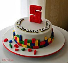 Cherry's Cakes: Building Blocks/Lego