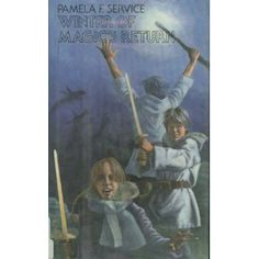 """Winter of Magic's Return by Pamela F. Service. Saw this recommended on a discussion of """"Prince Caspian."""" Features a time traveling Merlin. <3 <3 <3"""