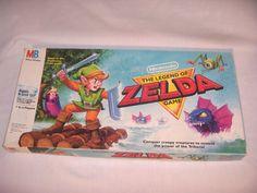 1988 The Legend of Zelda Board Game