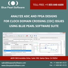 Most #CDC tools do not understand #FPGA vendor #clocking #schemes. Designers thus spend enormous resources to set up their design.