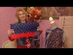 Яркое платье в пол своими руками | Ольга Никишичева - YouTube