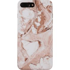 Marble Pattern Phone Cover Case For Iphone ($4.98) ❤ liked on Polyvore featuring accessories, tech accessories and zaful