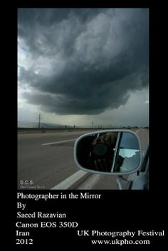 Photographer in the Mirror By Saeed Razavian Canon EOS 350D Iran 2012