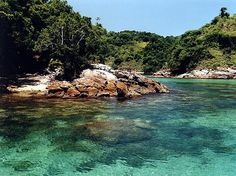 Lagoa Azul Angra dos reis Rio de Janeiro Brasil