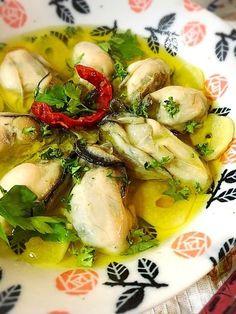 簡単☆ふっくら牡蠣のアヒージョ