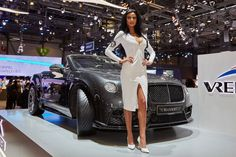 Girls of the motor show - Девушки автосалона
