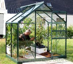Vitavia Venus Green 6x4 Greenhouse - 3mm Horticultural Glazing