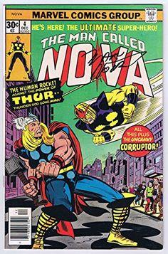 Nova #4 Thor Appearance Signed w/COA Marv Wolfman 1976 Marvel Comics @ niftywarehouse.com #NiftyWarehouse #Thor #Marvel #Avengers #TheAvengers #Comics #ComicBooks