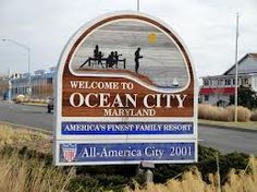 Ocean City Md.  Yeah will go back here again sometime and walk the boardwalk, the beach and eat some yummy and different foods