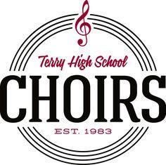 Terry High School Choirs Logo by SB Fouts, via Behance