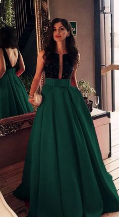 Sexy dark green satin long formal prom dresses,sexy open back sleeveless evening dresses · PeachGirlDress · Online Store Powered by Storenvy Dresses Elegant, Sexy Dresses, Fashion Dresses, Prom Dresses, Formal Dresses, Wedding Dresses, Backless Dresses, Open Back Dresses, Bridesmaid Dress