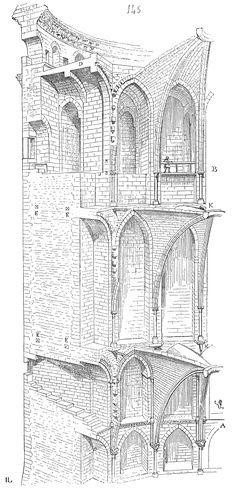 "How to Build a Medieval City. It's in French, but apparently well illustrated. ""Dictionnaire raisonné de l'architecture française du XIe au XVIe siècle"""
