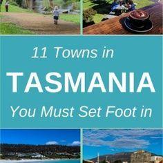 11 towns in Tasmania, Australia you must set foot in. Australia Beach, Australia Travel, Queenstown Tasmania, Tasmania Road Trip, Perfect Road Trip, Self Driving, Beach Photography, Natural Wonders, You Must