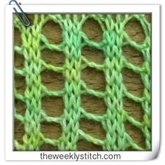 Twisted Ladder Stitch