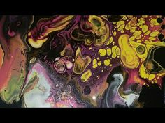 """""""Meadow"""" flip cup acrylic art 16x20 in Easter colors - YouTube"""