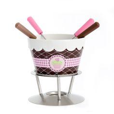 Csokoládé fondue 4 villával | Stile Interio