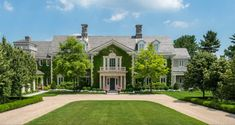 Stunning Stone Georgian Mansion in Greenwich Connecticut ...