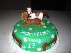 Torta compleanno cavalli