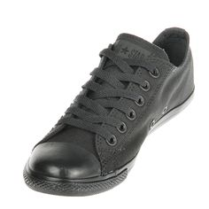 EVEN BETTER: These Converse Chuck Taylor Slim OX shoes in Black Mono are great for the warmer weather! They have the same comfort you can expect from Converse but with a slimmer sole and will go with everything in your wardrobe! Converse Shoes Men, Batman Shoes, Leather Converse, Converse Style, Converse Fashion, Converse Chuck Taylor All Star, Converse All Star, Chuck Taylor Sneakers, Top Shoes