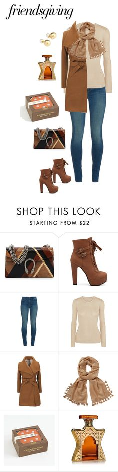 """""""Friendsgiving"""" by lalalace-1 ❤ liked on Polyvore featuring Gucci, J Brand, Emilia Wickstead, Lilly Pulitzer, Bond No. 9 and Yoko London"""