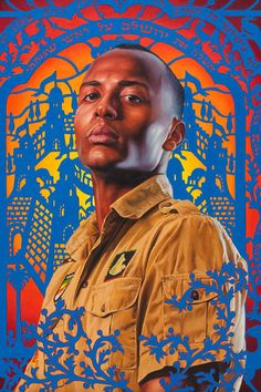 Great series of paintings by the artist everyone compares me to...the talented Kehinde Wiley.
