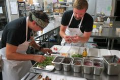Chef Tommy Halvorson & Chef Javier Montano - Foxtail Catering & Events