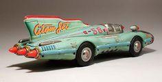 お前達には失望した, Atom Jet Car, アトムジェットカー, ヨネザワ Antique Toys, Vintage Toys, Retro Vintage, Metal Toys, Tin Toys, Atom Car, Doll Toys, Dolls, Space Toys