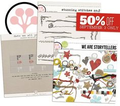 SOSN Sale Sept 3rd - 50% of these fabulous products today only - head to The Lilypad right here:  http://the-lilypad.com/store/SOSN-09-03/