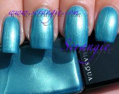 Illamasqua Strike (Shimmery Aqua Blue)
