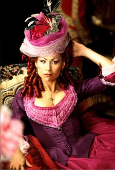One of my dream costumes! Love Carlotta's outfits in The Phantom of The Opera Movie & Theatre productions! Amazing!!