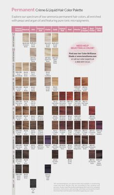 Clairol Professional Hair Color Chart Er Så Kjent Men Hvorfor