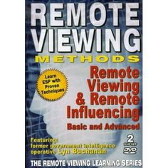 Remote Viewing Methods - Remote Viewing and Remote Influencing - Lyn Buchanan LIVE 2 DVD Set Opposite Words, Collective Consciousness, Remote Viewing, Super Secret, Dvd Set, Intuition, Astral Projection, Learning, Military