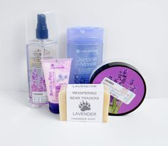 LAVENDER Body Mist Soap Shower Gel Gift Set , Body Butter Foot Lotion 5 pc New #SanFranciscoSoapCo #GiftSet #Soap #ShowerGel #BodySpray #Lavendar #Lavender #FootLotion #BodyLotion #Valentines