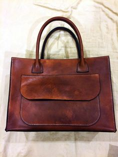 Handmade hand-stitched women leather bag  purse This is a beautiful women leather  bag  purse that made completely by hand using quality vegtan. adfefd4d63a1d