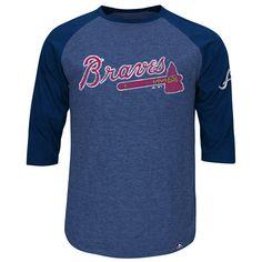 168066e51 Majestic Men s Atlanta Braves Power T-Shirt Men - Sports Fan Shop By Lids -  Macy s