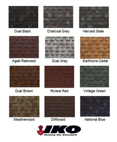 Best Vinyl Siding Color Chart Gaf Timberline Roofing Shingles 400 x 300