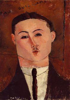 Paul Guillaume, 1916  Amedeo Modigliani