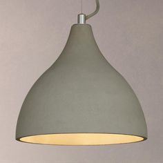 Buy John Lewis & Partners Emile Concrete Pendant Light, Grey from our Ceiling Lighting range at John Lewis & Partners.