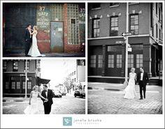 Tribeca Rooftop Wedding / NYC Wedding / ©2013 Janelle Brooke Photography