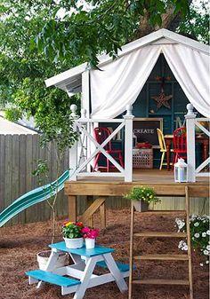 Δείτε 10 εκπληκτικές κατασκευές που δημιούργησαν κάποιοι γονείς στον κήπο τους, χαρίζοντας έναν μικρό παιχνιδο-παράδεισο στα παιδιά τους!