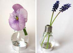 DIY: Light bulb vase