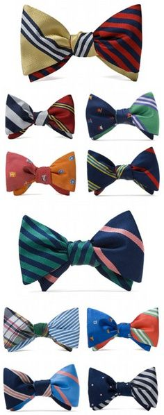 Cheeky bowties for your outfit.