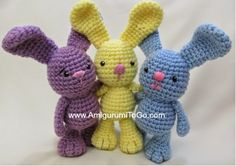 free crochet bunny rabbit pattern (FREE crochet patterns for easter bunnies)