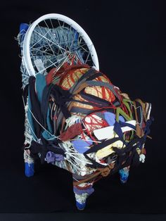 Judith Scott (1943 – 2005) produced fantastic mixed media sculptures at the Creative Growth centre in Oakland, CA. #disability #disabilityart